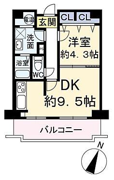 中古マンション-大阪市北区中崎西4丁目 間取り