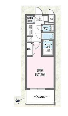 中古マンション-大阪市東成区東小橋1丁目 4階部分の南東向きバルコニーです