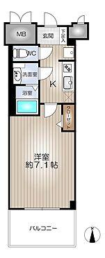 マンション(建物一部)-名古屋市東区代官町 間取り