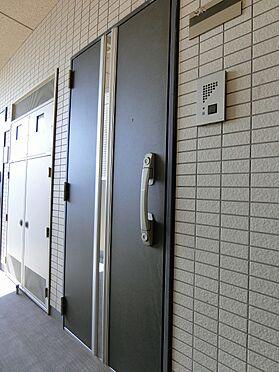 区分マンション-品川区荏原4丁目 玄関ドア:ダブルキーシリンダー、かつ、ディンプルキー採用