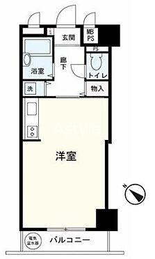 マンション(建物一部)-中央区日本橋箱崎町 間取り