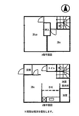 アパート-焼津市東小川3丁目 間取り