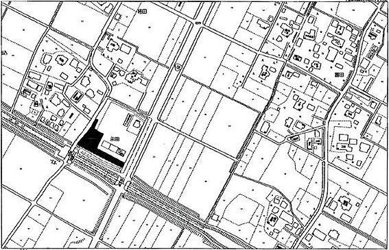 倉庫-大網白里市永田 現地案内図です。資料請求などお問い合わせお気軽にどうぞ