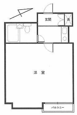 マンション(建物一部)-新宿区四谷坂町 間取り
