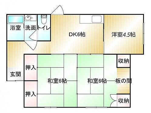 アパート-鹿屋市田崎町 間取り