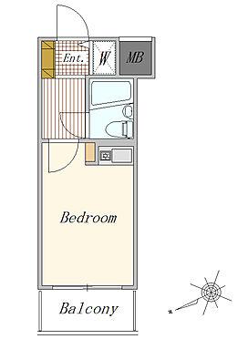 マンション(建物一部)-川崎市川崎区大島1丁目 1R 16.83平米