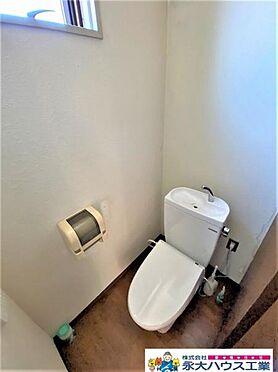 中古一戸建て-仙台市青葉区北根3丁目 トイレ