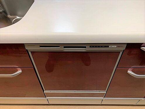 区分マンション-稲沢市祖父江町祖父江北川原 食洗機は手洗いに比べ節水でき、高温洗浄で油汚れもスッキリ。忙しいママの強い味方ですね♪