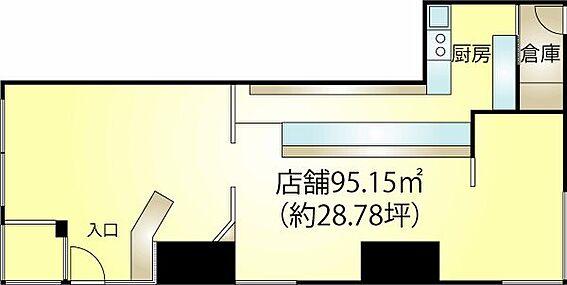 店舗(建物一部)-熱海市田原本町 専有面積:95.15m2