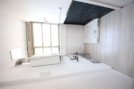 建物全部その他-八王子市長房町 キッチンスペースの横にある洗濯機置場となっております。