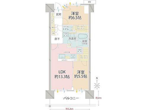 中古マンション-品川区勝島1丁目 明るく広々としたお部屋です。