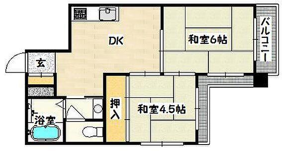 マンション(建物一部)-神戸市兵庫区三川口町2丁目 2面バルコニーで日当たり良好