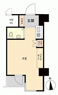 マンション(建物一部)-台東区入谷1丁目 間取り