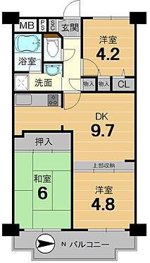 マンション(建物一部)-京都市南区久世殿城町 全居室収納あり