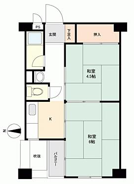 中古マンション-大阪市中央区島之内2丁目 間取り