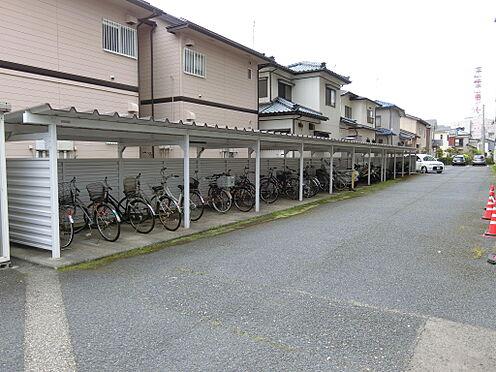 中古マンション-新潟市中央区南出来島2丁目 屋根付きの駐輪場