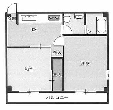マンション(建物一部)-横浜市南区吉野町5丁目 間取り