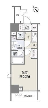 中古マンション-横浜市神奈川区栄町 間取り図