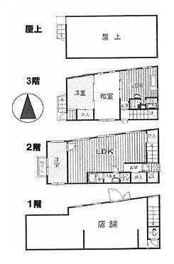 マンション(建物全部)-大阪市住之江区浜口東3丁目 間取り