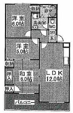 マンション(建物全部)-神戸市北区有野中町3丁目 間取り