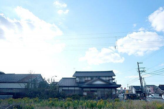 土地-富山市婦中町速星 西側の景観