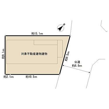 アパート-横浜市港南区東永谷1丁目 区画図