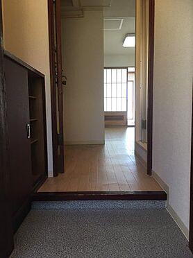 マンション(建物一部)-札幌市豊平区平岸二条18丁目 ゆったりとした玄関です