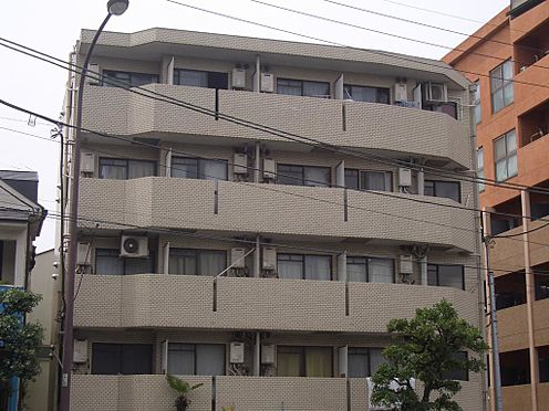 マンション(建物一部)-目黒区柿の木坂1丁目 外観タイル貼りの低層型マンション