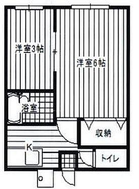 アパート-野田市山崎新町 間取り