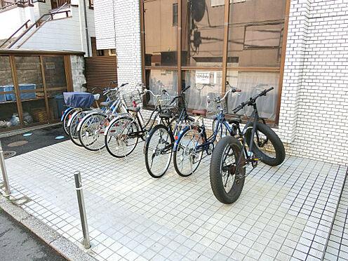マンション(建物一部)-東村山市栄町2丁目 整頓された駐輪場