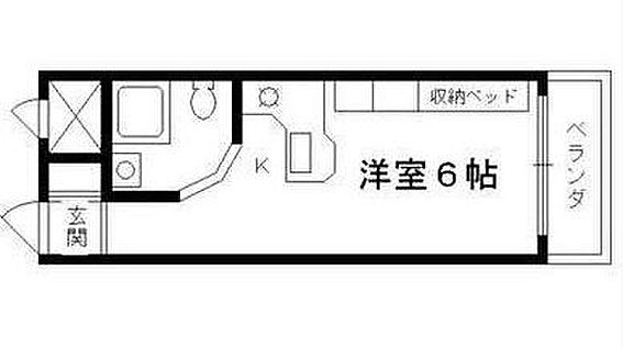 区分マンション-京都市南区唐橋平垣町 広めのキッチンが特徴