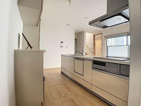 中古一戸建て-名古屋市守山区鳥羽見3丁目 食洗器付きの機能が充実したキッチン