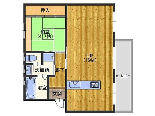 マンション(建物一部)-大阪狭山市西山台5丁目 間取り
