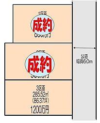 熊谷市江南中央 3区画分譲地3 江南南小学校・江南中学校