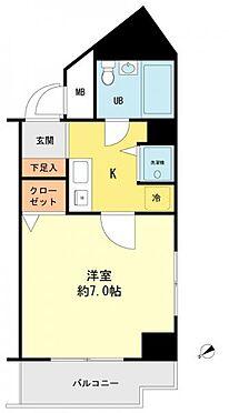 マンション(建物一部)-横浜市港北区綱島西2丁目 間取り