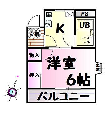 マンション(建物一部)-所沢市北所沢町 出窓もついて明るいお部屋です