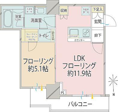 中古マンション-品川区東大井1丁目 間取り