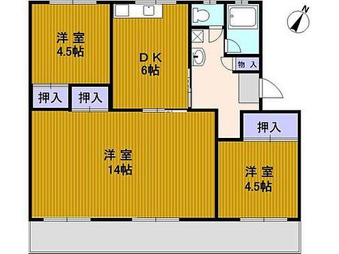 マンション(建物一部)-神戸市北区ひよどり台5丁目 間取り