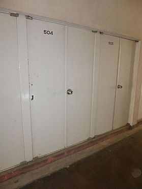 区分マンション-浜松市中区和地山1丁目 廊下にトランクルームあり