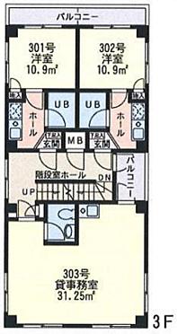 一棟マンション-横浜市鶴見区潮田町3丁目 間取り
