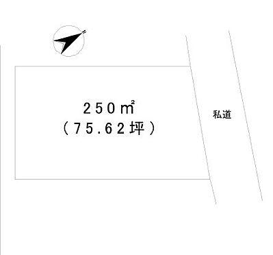 土地-行田市大字野 区画図
