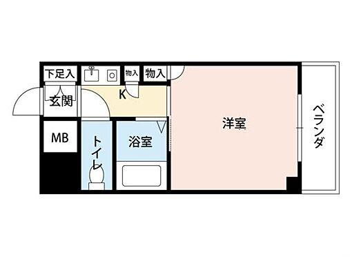 マンション(建物一部)-大阪市西淀川区姫里1丁目 2点セパレートで清潔感あり。