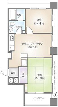 マンション(建物一部)-新宿区喜久井町 間取り