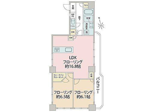 中古マンション-品川区南大井3丁目 間取り