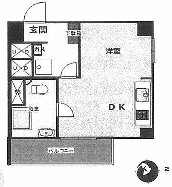 マンション(建物一部)-練馬区中村北1丁目 間取り