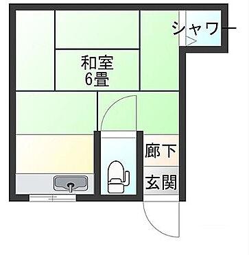 アパート-大阪市西成区天下茶屋東2丁目 間取り