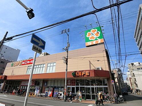 中古マンション-大阪市浪速区敷津西1丁目 ライフ大国町店まで約250メートル