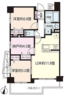 マンション(建物一部)-葛飾区東四つ木3丁目 【間取り】