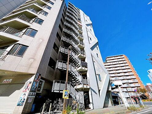 一棟マンション-江東区亀戸1丁目 スタイリッシュな外観です。