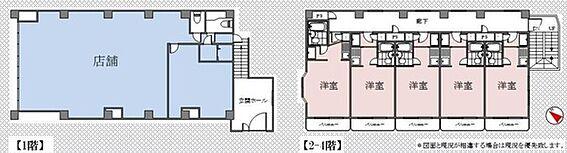 収益ビル-藤沢市本町4丁目 1階店舗:賃貸中2〜4階 1R×15戸 現在満室稼動中